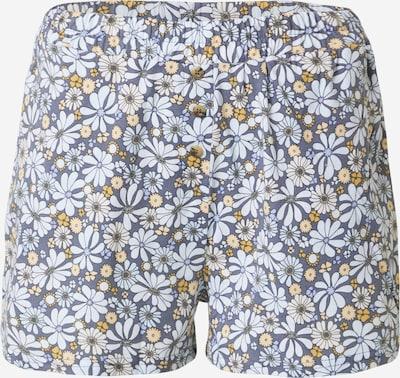 Pantaloni de pijama Cotton On Body pe albastru / albastru deschis / portocaliu, Vizualizare produs