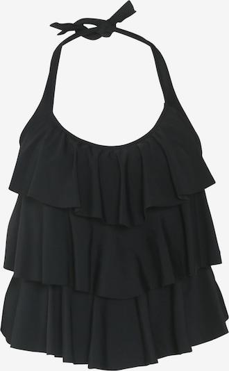 Paprika Tankinitop in schwarz, Produktansicht