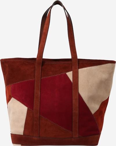 Plase de cumpărături Vanessa Bruno pe culoarea pielii / maro ruginiu / roșu ruginiu / rubiniu, Vizualizare produs