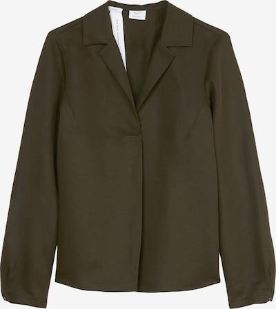 Marc O'Polo Pure Bluse in dunkelgrün, Produktansicht
