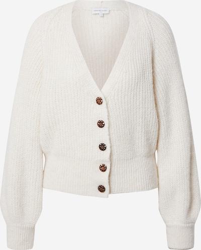 Fabienne Chapot Gebreid vest 'Starry' in de kleur Natuurwit, Productweergave