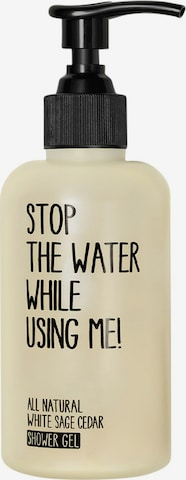 STOP THE WATER WHILE USING ME! Shower Gel 'White Sage Cedar' in