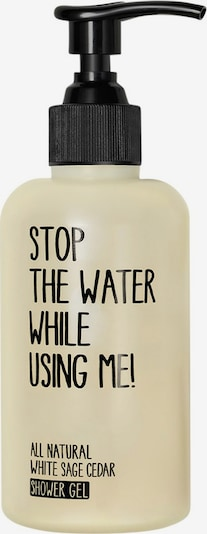 STOP THE WATER WHILE USING ME! Shower Gel 'White Sage Cedar' in Transparent, Item view