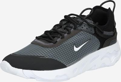 Nike Sportswear Ниски маратонки в тъмносиво / черно / бяло, Преглед на продукта