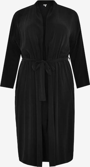 Yoek Gebreid vest in de kleur Zwart, Productweergave