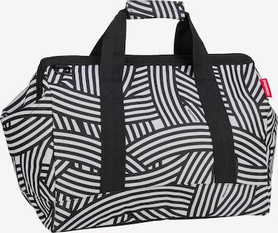 REISENTHEL Reisetasche in schwarz / weiß, Produktansicht