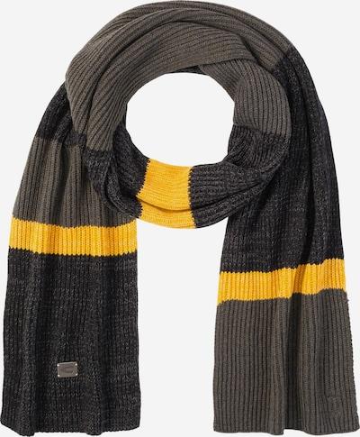 CAMEL ACTIVE Schal mit Streifen in oliv, Produktansicht
