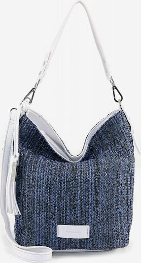 TAMARIS Schultertasche 'Claudia' in kobaltblau / hellblau / weiß, Produktansicht