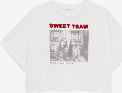 MANGO KIDS T-Shirt in grau / weiß, Produktansicht