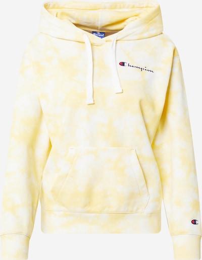 Champion Authentic Athletic Apparel Sweatshirt in gelb / weiß, Produktansicht