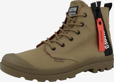 Palladium Boots 'Pampa Unzipped' in oliv / orange / schwarz, Produktansicht