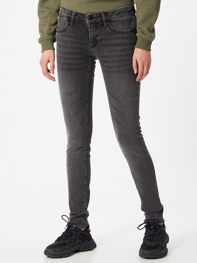 Mavi Jeans 'Serena' in grey denim, Modelansicht