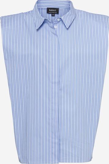 Bardot Bluse in hellblau / weiß, Produktansicht