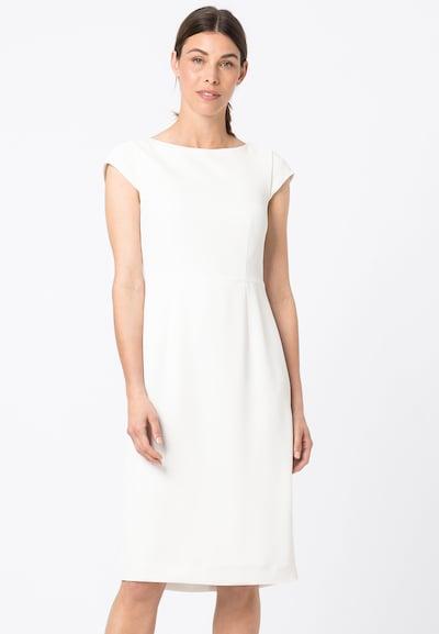HALLHUBER Etuikleid in weiß, Modelansicht