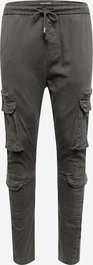 BRAVE SOUL Карго панталон 'ASKERNCHARC' в тъмносиво: Изглед отпред