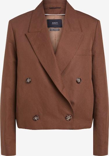 SET Blazer en marrón, Vista del producto