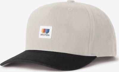Brixton Cap 'ALTON' en beige / royalblau / safran / schwarz / weiß, Vue avec produit