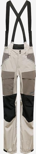 BURTON Sporthose in taupe / hellgrau / schwarz, Produktansicht