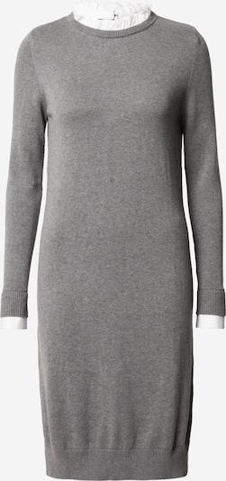 ESPRIT Robes en maille en gris / blanc, Vue avec produit