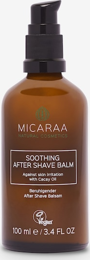 MICARAA Naturkosmetik After Shave Natural Aftershave Balm 100ml in braun, Produktansicht