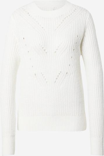 Q/S designed by Pull-over en blanc cassé, Vue avec produit