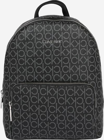 Calvin Klein Backpack 'Campus' in Grey / Black, Item view
