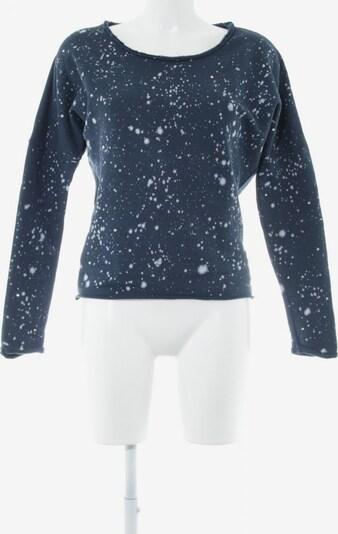 DEHA Longpullover in XS in dunkelblau / silber / weiß, Produktansicht