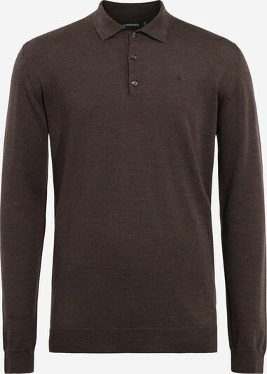 J.Lindeberg T-Shirt 'Noel' en brun foncé, Vue avec produit