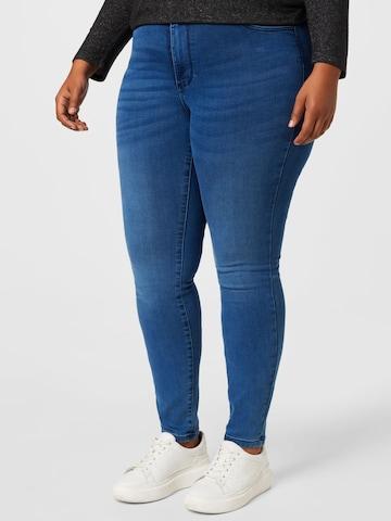 Vero Moda Curve Jeans 'SOPHIA' in Blauw
