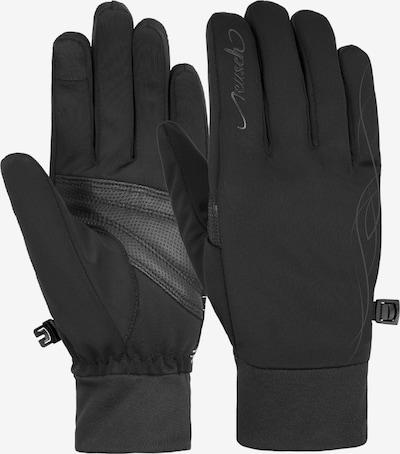 REUSCH Fingerhandschuhe 'Saskia TOUCHTEC' in schwarz, Produktansicht