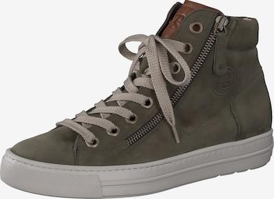 Paul Green High-Top Sneakers in Olive / Dark green, Item view