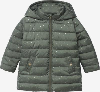 MANGO KIDS Mantel in khaki / weiß, Produktansicht