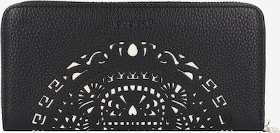 Desigual Geldbörse 'Mone Tribal' in schwarz / weiß, Produktansicht
