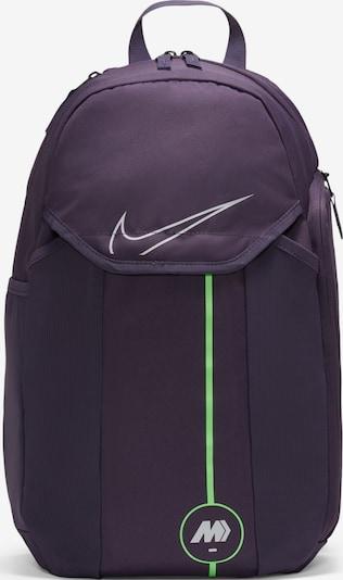 NIKE Sportrucksack in apfel / dunkellila / weiß, Produktansicht