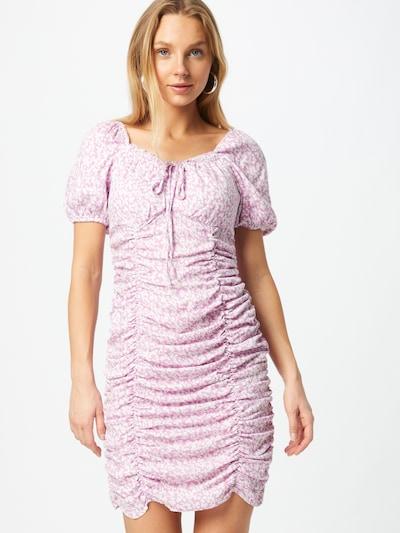 ONLY Kleid 'MARIA' in mauve / weiß, Modelansicht
