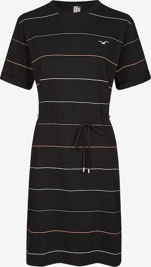 Cleptomanicx Kleid Feel Stripe in schwarz, Produktansicht