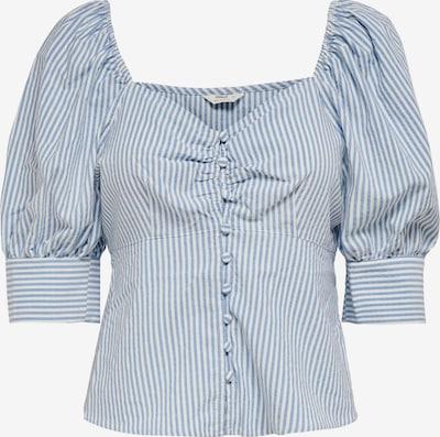 ONLY Bluse 'Betti' in himmelblau / weiß, Produktansicht