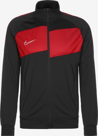 NIKE Trainingsjacke 'Dry Academy Pro' in rot / schwarz, Produktansicht