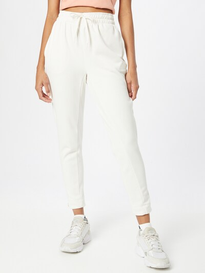 Pantaloni sport ADIDAS PERFORMANCE pe alb, Vizualizare model