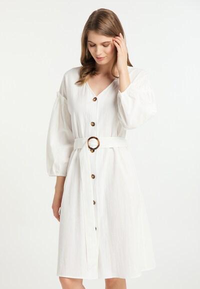 Usha Kleid in naturweiß, Modelansicht