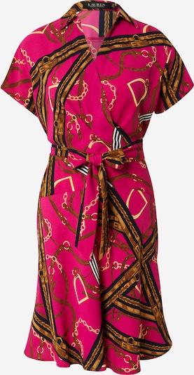 Lauren Ralph Lauren Šaty 'KEVINA' - tmavomodrá / žltá / ružová / biela, Produkt