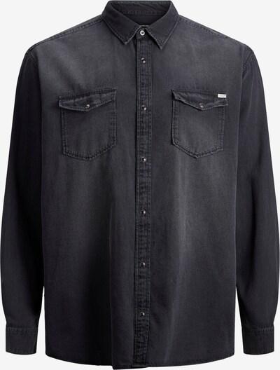 Jack & Jones Plus Košeľa 'JJESHERIDAN' - čierny denim, Produkt