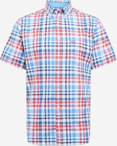 bugatti Hemd in blau / rot / weiß, Produktansicht