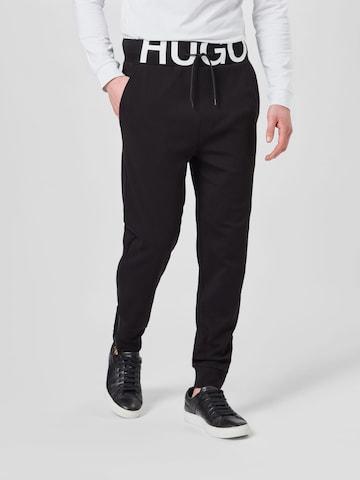 HUGO Панталон 'DUROS' в черно