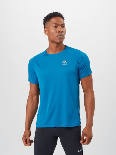 ODLO Functional shirt 'Essential' in blue / white: Frontal view