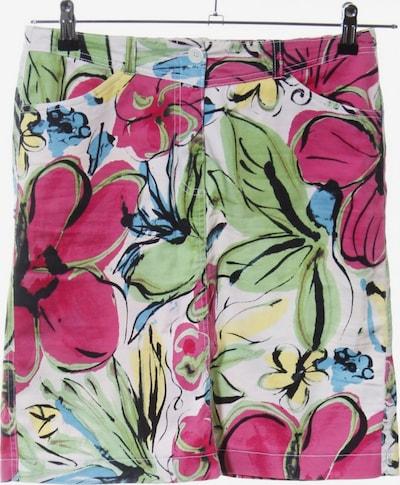 Carlo Colucci Minirock in S in grün / pink / weiß, Produktansicht