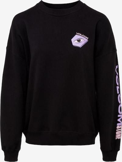 Volcom Sweat-shirt 'Mentrip' en bleu pastel / violet pastel / noir, Vue avec produit