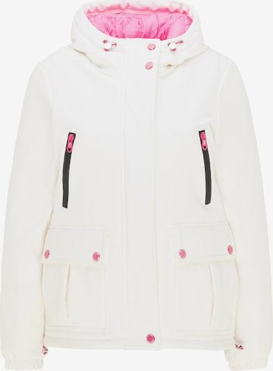 MYMO Jacke in pink / naturweiß, Produktansicht