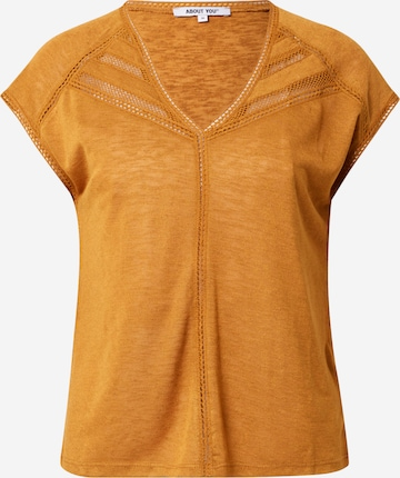 ABOUT YOU Shirt 'Vivian' in Geel