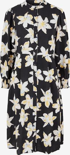 Pieces Maternity Skjortklänning i himmelsblå / gul / svart / vit, Produktvy